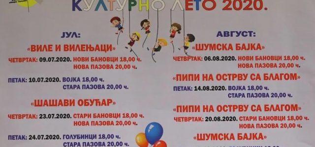 Dečije kulturno leto u Staroj Pazovi