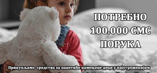 """Mitrovčani se priključuju humanitarnoj akciji """"Zajedno za dečije osmehe"""""""