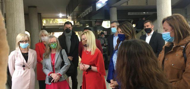 Ministarka trgovine, turizma i telekomunikacija Tatjana Matić u radnoj poseti Sremskoj Mitrovici