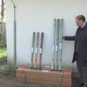 Rakete od sekretarijata za protivgradnu odbranu Vojvodine (VIDEO)