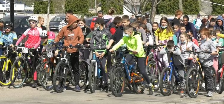 Biciklistička trka u Beočinu (VIDEO)