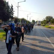 Izbeglice prošle kroz Inđiju