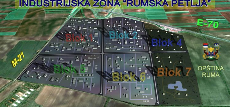 Ruma: Početak izgradnje nove fabrike u Radnoj zoni Rumska petlja