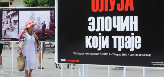 """Izložba fotografija """"Oluja zločin koji traje"""" sutra u Staroj Pazovi"""