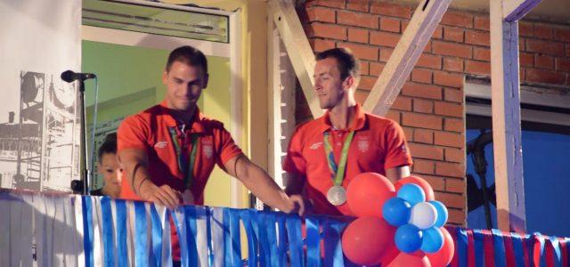 Mitrovčani svečano dočekali kajakaše