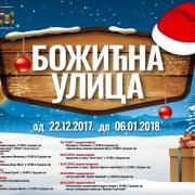 "Praznična atmosfera na trgu: Počinje ""Božićna ulica"" u Rumi"