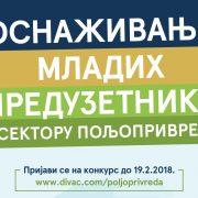 Ruma: Konkurs za dodelu bespovratnih sredstava za mlade poljoprivrednike