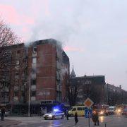 Požar u centru Rume- Nema povređenih