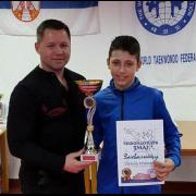 Veliki uspeh mladog sportiste iz Pećinaca