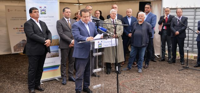 Stara Pazova: Položen kamen temeljac za zgradu za izbeglice