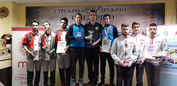 "Inđija: Nove medalje za strelce ""Mladosti"""