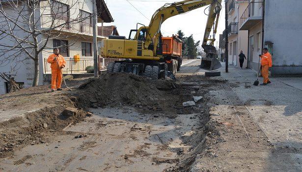 Inđija: Rekonstrukcija Golubinačke ulice