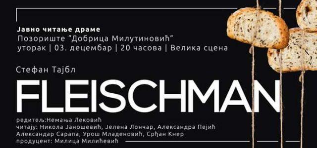 "Javno čitanje drame ""Fleischman"""
