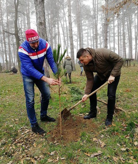 """""""Za zeleniju Vojvodinu"""" – Nove sadnice na izletištu """"Borkovac"""""""