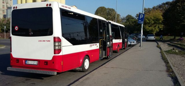 Organizovan prevoz zdravstvenih radnika na liniji Nova Pazova – Beograd