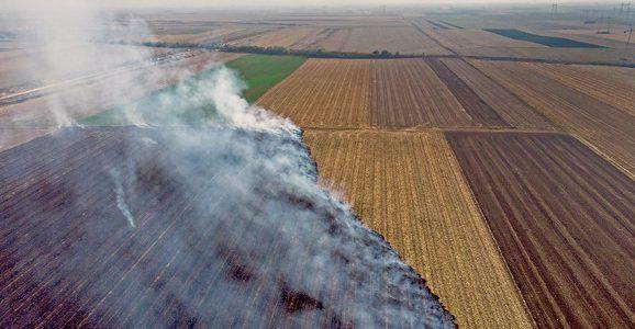 "Rumska Poljoprivredna stručna služba se priključila kampanji ""Ne pali strnjiku"""