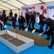Svečano polaganje kamena temeljca postrojenja japanskog investitora u Inđiji