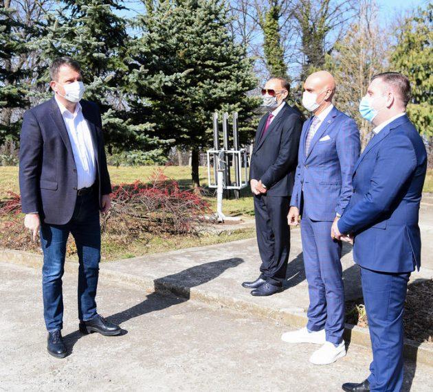"""Mirović u radarskom centru """"Fruška gora"""""""