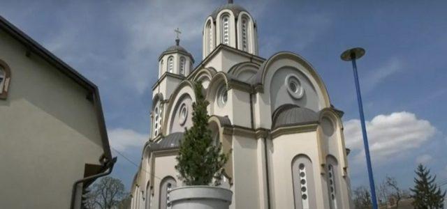 Akcija uređenja crkvene porte u Beočinu (VIDEO)