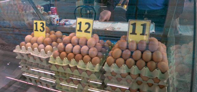 Potražnja jaja na pijacama sve intenzivnija