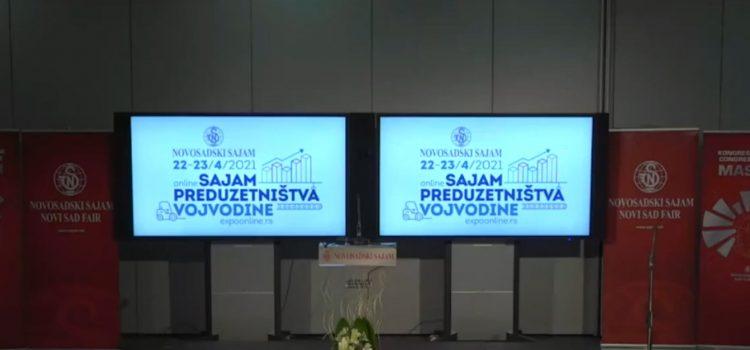Online sajam preduzetništva Vojvodine (VIDEO)